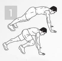 Упражнение для тренировки мышц пора: подъем ногой