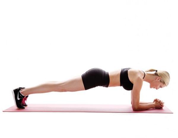 Планка – упражнение для похудения и укрепления мышц всего тела