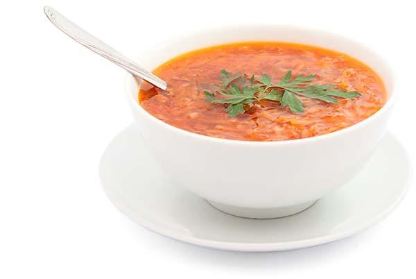 Супы для ускорения метаболизма