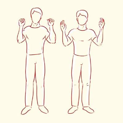 Упражнение Стерльниковой Ладошки