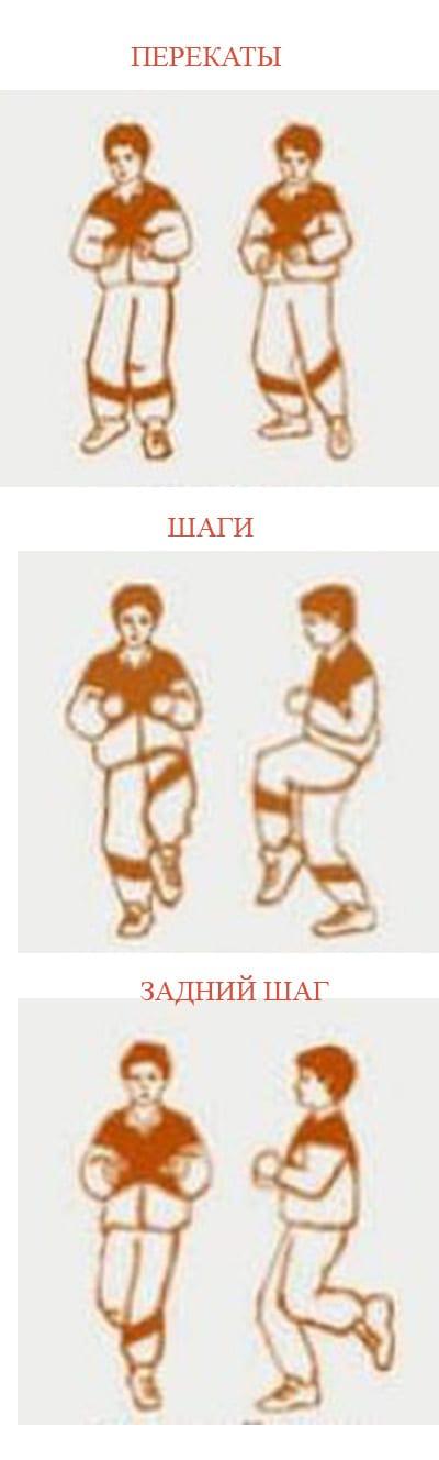 Дыхательная гимнастика с поворотами шагами