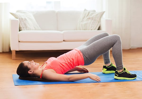 Ягодичный мостик - эффективное упражнение