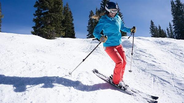 Лыжи - зимний вид кардио тренировки