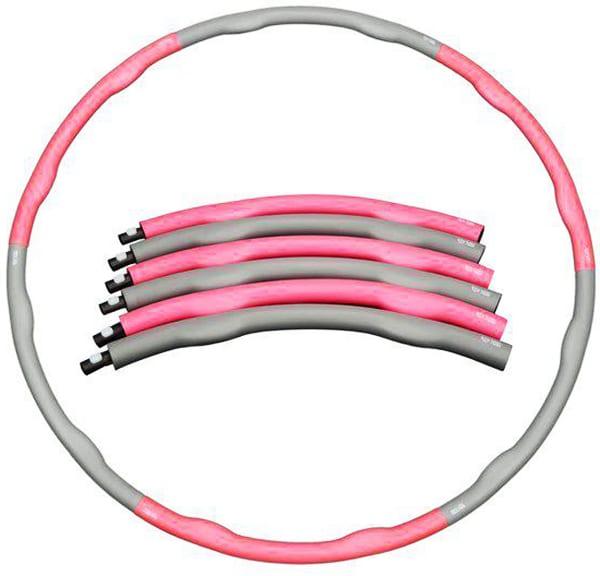 Обруч с волнистой резиновой обкладкой