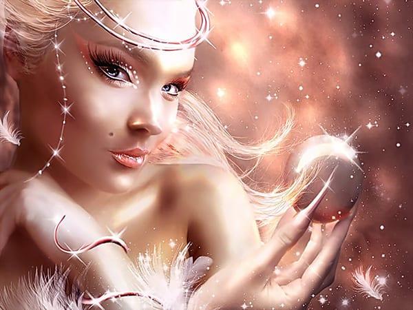 Наполненная женщина светится красотой изнутри