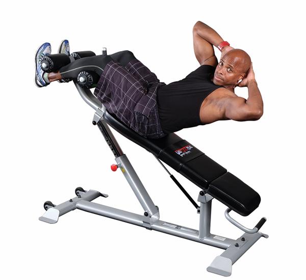 Упражнения на скамье для пресса