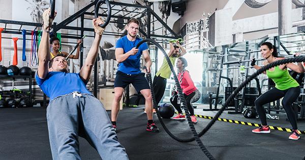 Кроссфит - тренировка в сверхинтенсивном режиме