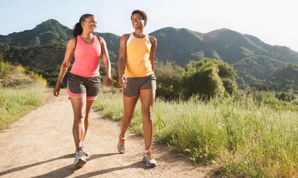 Прогулки улучшают метаболизм