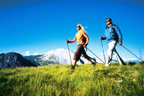 Насыщение кислородом во время скандинавской ходьбы
