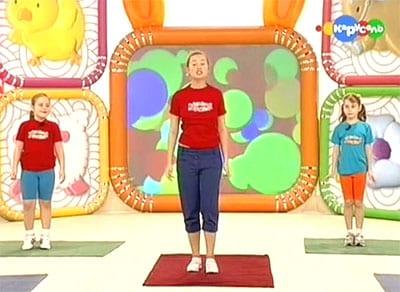 Прыг скок команда - веселая зарядка для детей