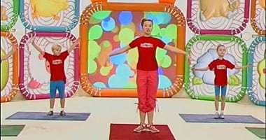 прыг-скок команда зарядка для детей