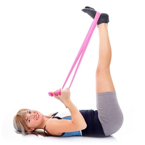 Тренировка с резиновой лентой