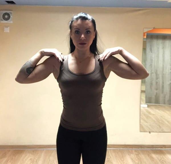"""Упражнение """"Обними плечи"""" 1"""
