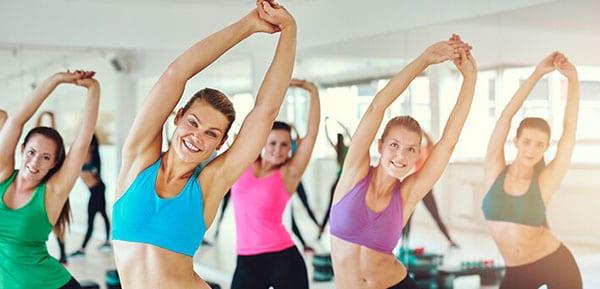 Аэробика укрепляет мышцы всего тела