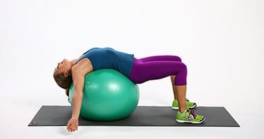 фитбол от боли в спине