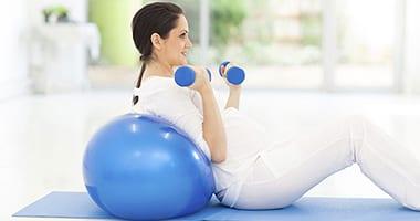 фитбол для беременных1