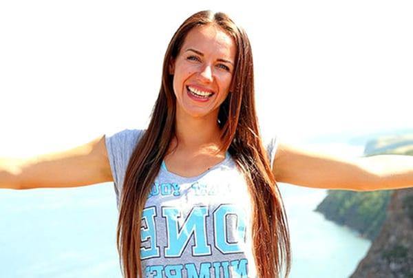 Елена Силка - самый позитивный российский фитнес-инструктор