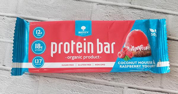 Biovin Protein Bar - сытость без вреда для организма