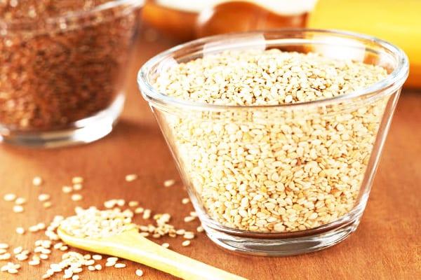 Кунжутное семя содержит множество ценных веществ