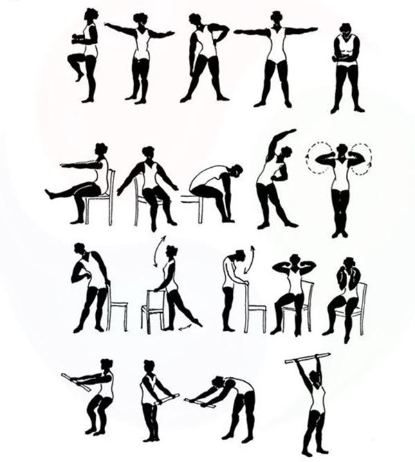 Комплекс лечебной гимнастики при бронхите