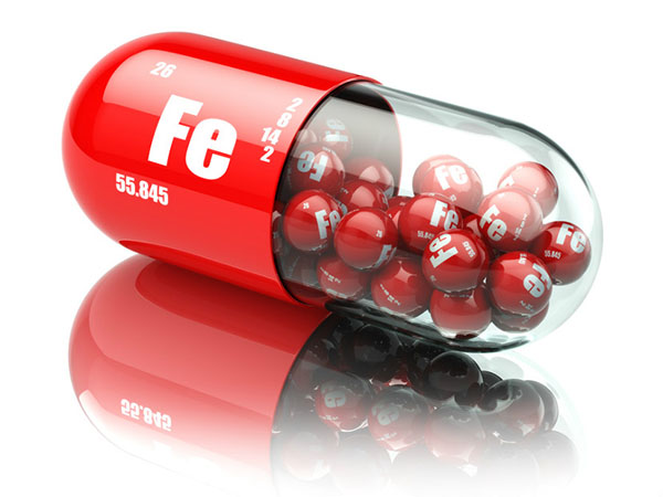 Железо доставляет кислород в органы и ткани