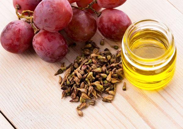 Косметическое масло из виноградной косточки