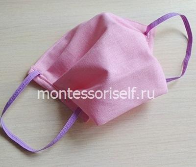 Медицинская маска для лица своими руками