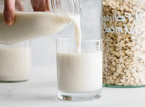 Домашнее овсяное молоко