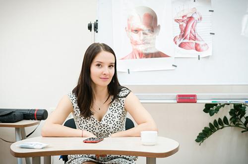 Евгения Баглык - консультант по красоте