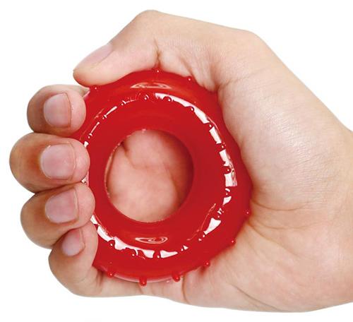 """Эспандер """"резиновое кольцо с пупырышками"""""""