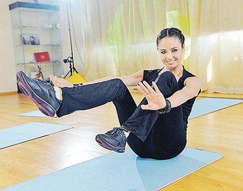 Ляйсан Утяшева упражнения для похудения