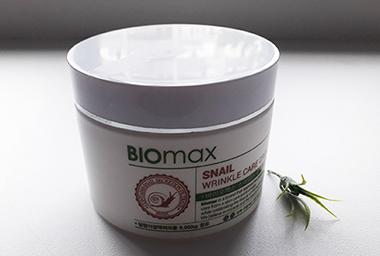 BIOmax Snail Anti-Wrinkle Cream с экстрактом слизи улитки: увлажнение и разглаживание морщин
