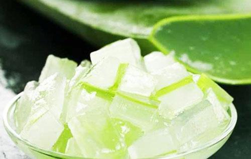 Кубики льда из алоэ