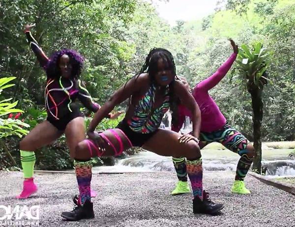 DANCEHALL (дэнсхолл) - ямайский уличный танец